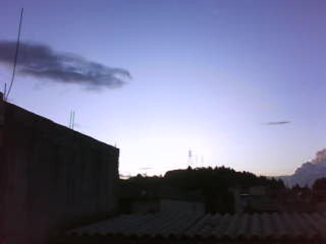 Vista al Oeste ciudad Guatemala